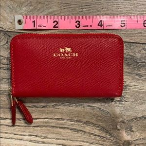 Red Coach Billfold or Wallet